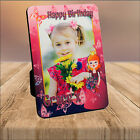 Personalised Girls 3rd 4th 5th 6th Birthday WOOD PHOTO KEEPSAKE PRINT - ANY AGE