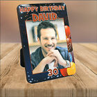 Personalised 18th 21st 30th 40th 50th Birthday WOOD PHOTO KEEPSAKE GIFT PRINT 1