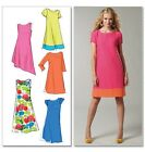 McCall's 6465 Easy Sewing Pattern to MAKE Shift Dress with Sleeve & Hem Vari