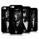 HEAD CASE DESIGNS CLASSY ANIMALS SOFT GEL CASE FOR APPLE iPHONE 5 5S SE