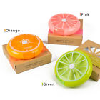 Fruit Pattern Round 7 Day Tablet Pill Weekly Boxes Holder Medicine Storage New