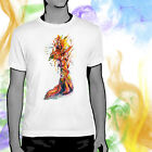 Phoenix Rising Watercolor Bird Art T-shirt Youth - Adult