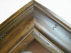 "2"" Wide Espresso Ponderosa Aged Pine Distresed Picture Frame-Custom Panoramic"