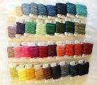 7 ply Waxed Irish Linen Crawford Cord 1.02mm Natural Blue Brown Black Green Grey