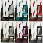 WAVE EMBOSSED TEXTURED WALLPAPER GLITTER ELEMENTS VARIOUS COLOURS AVAILABLE NEW