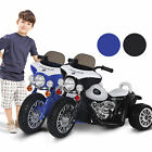 New Electric Motorbike Kids Ride On Toy Tricycle Children Gift 6V Battery
