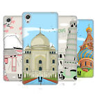 HEAD CASE DESIGNS DOODLE CITIES SERIES 3 BACK CASE FOR SONY XPERIA X PERFORMANCE