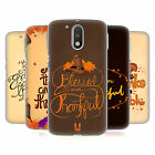 HEAD CASE DESIGNS THANKSGIVING TYPOGRAPHY CASE FOR MOTOROLA MOTO G4 / G4 PLUS