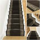Tribal Brown - Stair Carpet Runner For Staircase Modern Quality Cheap New Wilton