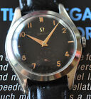 Omega Vintage 1951 Watch Cal 265 Movement STUNNING Black Dial Runs Strong++