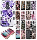 For ZTE ZMAX PRO IMPACT TUFF HYBRID Protector Case Skin Phone Cover Accessory
