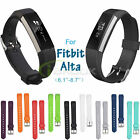 Soft Silicon Strap Replacement Wristband Clasp Buckle Bracelets For Fitbit Alta