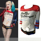 Harley Quinn T-Shirts Daddy's Lil Monster T-Shirts Costume Cosplay Halloween