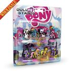 8PCS My Little Pony PVC Figures Spring dolls,Standing Dolls,Shaking Head Dolls
