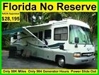 NO RESERVE 2001 TIFFIN ALLEGRO BAY 34FT CLASS A RV MOTORHOME CAMPER SLIDE OUT