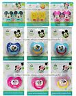 BEST BRANDS Pink/Blue PACIFIER/HOLDERS Clip+Ribbon DISNEY BABY New! *YOU CHOOSE*