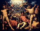 Classic Dutch Masterpiece of Greek Mythology: The Fall of the Titans by Haarlem