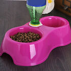 New Pet Dog Feeding Bowls Automatic Water Dispenser Puppy Cat Food Bowl 2 in 1
