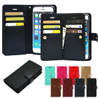 Goospery diary Double Flip Leather Wallet Book Case Cover  For iPhone Galaxy LG