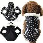 Comfortable Pet Dog Clothes Winter Warm Coat Jacket Sweater Hoodie S M L XL Size