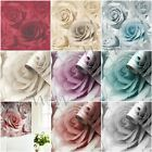 MADISON ROSE FLORAL WALLPAPER MURIVA FEATURE WALL - CLASSIC & GLITTER DESIGNS