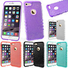 GLITTER Shock Proof Impact Slim Rubber Soft Hard Cover Case for Cell Phones