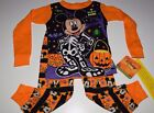 New Disney Mickey Mouse Halloween Toddler Boys 2T 3T 4T 5T pajamas