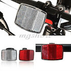 Cycle Road Bike Bicycle Reflector Light Reflective Strips Stick Front Rear Tool