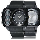 OHSEN EL Light Digital Militray Alarm Sport Mens Watches Quartz Special Big Case