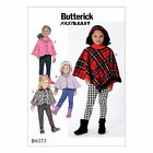 Butterick 6373 Fast & Easy Sewing Pattern to MAKE Capes & Poncho Hood or Collar