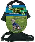 Four Paws COMFORT CONTOL DOG HARNESS  Small Black, Pink, Red or Blue