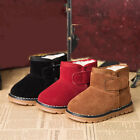 Boys Girls Kids Children Winter Warm Snow Boots Outdoor Casual Shoes UK Size 4-8