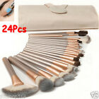 24 Pcs Professional Make Up Brush Set Foundation Brushes Kabuki Makeup Brushes