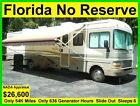 NO RESERVE 2000 FLEETWOOD BOUNDER 36FT CLASS A RV MOTORHOME CAMPER SLIDE OUT