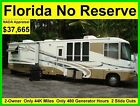 NO RESERVE 2002 DAMON INTRUDER 38FT CLASS A RV MOTORHOME CAMPER 2 SLIDE OUTS