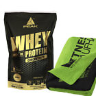 Peak Whey Protein Concentrate 1000g Beutel + Handtuch