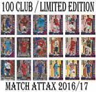 Match Attax 2016/17 LIMITED EDITION / 100 CLUB / LEGEND Premier League 2016 2017