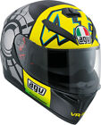 AGV 2017 Adult K3SV Win Test 12 Motorcycle Helmet SM-2XL