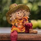 SCARECROW GIRL COASTERS U PICK SET SIZE