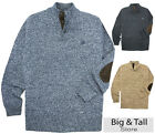 Big & Tall Men's Mockneck Twist Sweater by Chaps 3XL - 6XL 2XLT - 4XLT  #714