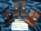 USA made Pair-2 LEATHER Replacement FUSE Part Strap for Breakaway Horse Halter