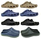 Mens Garden Clogs Beach Hospital Shoes Fishing Summer Sandals Gardening Mules