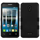 For Alcatel OneTouch Allura IMPACT TUFF HYBRID Protector Case Skin Phone Cover