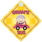 Baby on Board   Car Signs for Grandparents - Choice of Grandchildren Designs