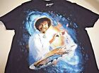 New Bob Ross shirt mens size S M L XL XXL Bob Ross painting galaxy shirt mens