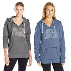 Under Armour Damen Damen-Popover UA Favorite Fleece Word Mark Kapuzenpullover
