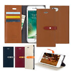 Slim Leather Wallet Case Cover For iPhone 6 6S 7 7 Plus Galaxy S6 S7 S7 edge LG