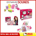Hello Kitty Kids Creative Fun Manicure Set, Jewellery Making Kit Dough Donut Set