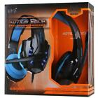 EACH G9000 3.5mm Gaming Stereo Headset USB LED Light Headphone w Mic for Gamers