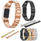 New Stainless Steel Smart Watch Band Wrist Strap Bracelet For Fitbit Charge 2